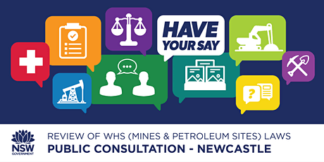 Public Consultation: Review of WHS (Mines & Petroleum Sites) Laws tickets