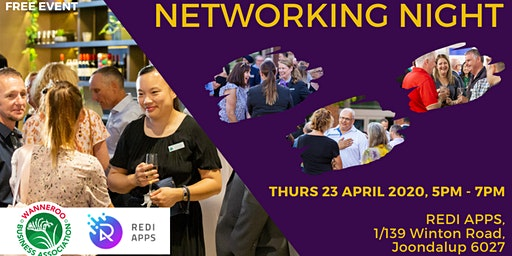Free  Business Networking Night - Joondalup