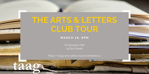 TAAG Tour - Arts & Letters Club