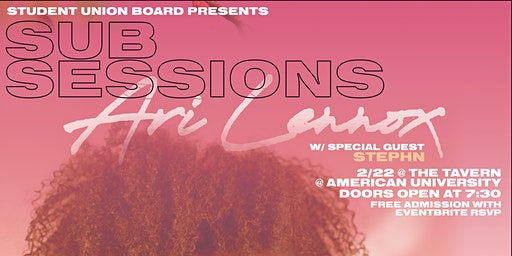 SUB Presents: SUB Sessions feat. Ari Lennox & Stephn