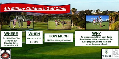 4th Military Children's Golf Clinic