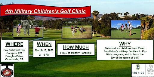 4th Military Children's Golf Clinic