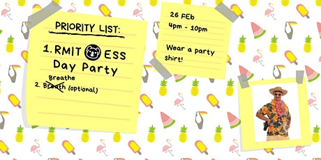 RMIT ESS Day Party tickets