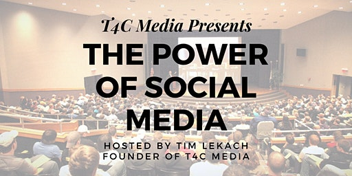 The Power Of Social Media - Hosted by Tim Lekach Founder of T4C Media