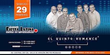 El Quinto Romance - Fiesta Latina boletos