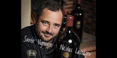 Soirée Vigneron : Nicolas Lassagne  billets
