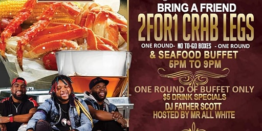 RSVP-One Round of 2 for 1 Buffet or $25 All You Can Eat- Big Dino-Metroboyz