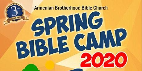 Spring Bible Camp 2020 tickets