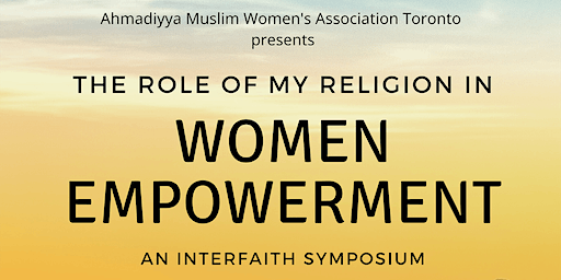The Role of My Religion in Women Empowerment