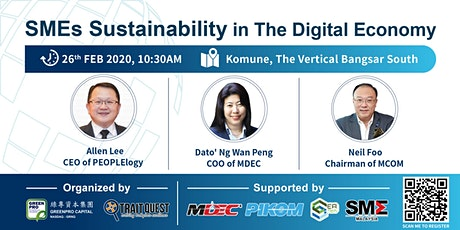 SMEs Sustainability in The Digital Economy tickets