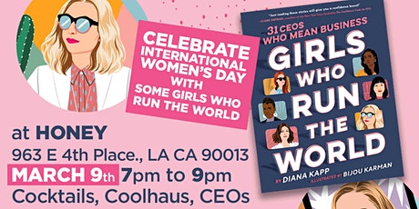 Cool CEOs, Coolhaus, Cocktails and Smart Chatter for Intl Women's Day tickets