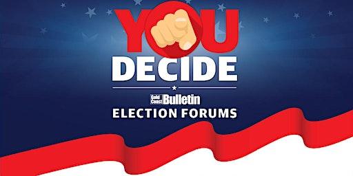 Gold Coast Bulletin Council Election Forum - Divisions 10 & 12