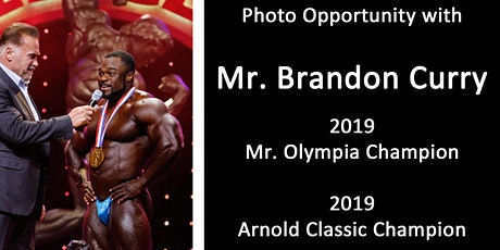 Photo-op w/ Brandon Curry, 2019 Mr. Olympia and 2019 Arnold Classic Champion tickets