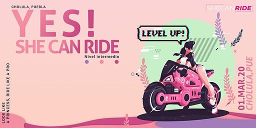 YES! She Can Ride Intermedio