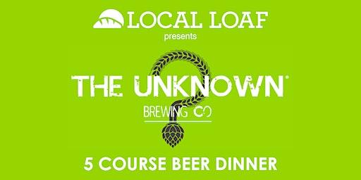 Unknown Beer Dinner