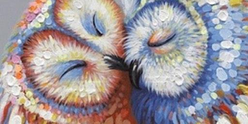 Paint Night in Croydon Park: Loving Owls