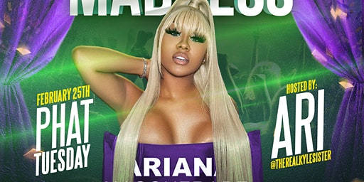 MARDI GRAS MADNESS Hosted By (( ARI @THEREALKYLESISTER )) @ MASQUERADE