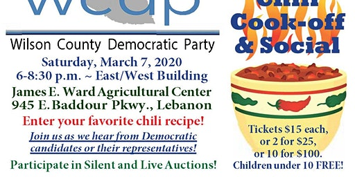 2020 WCDP Chili Cook-off and Social