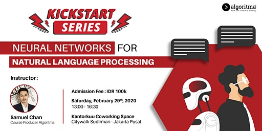 NEURAL NETWORKS FOR NATURAL LANGUAGE PROCESSING (INDONESIAN)