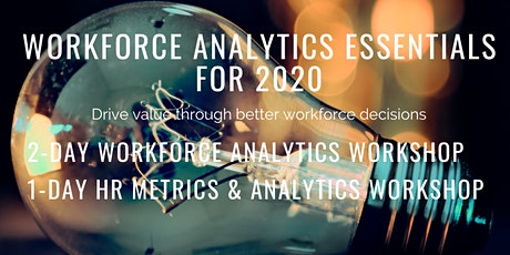 3- Day Workforce Analytics + HR Metrics Workshop tickets