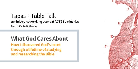 Tapas + Table Talk: Ministry Networking at ACTS Seminaries tickets