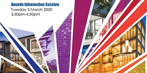 Building Excellence Awards Information Session