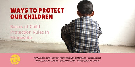 Ways to Protect Our Children tickets