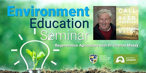Regenerative Agriculture with Dr Charles Massey