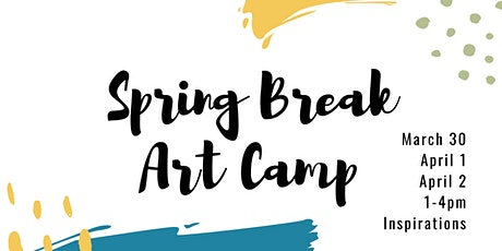 Spring Break Art Camp 2020   Day Two tickets