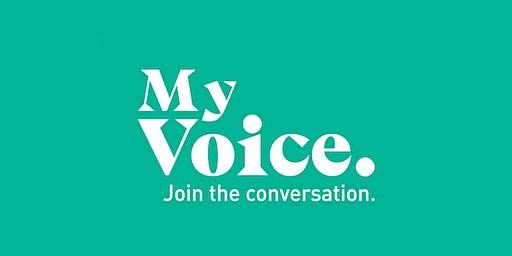 My Voice, Merrifield Residents Dinner