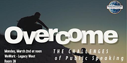Overcome Public Speaking Challenges