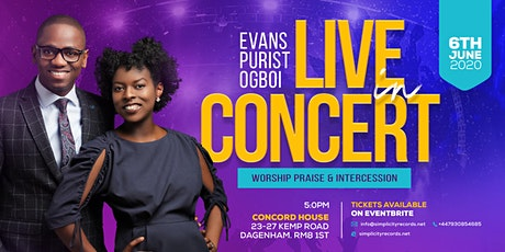 EVANS & PURIST OGBOI LIVE IN CONCERT		  tickets