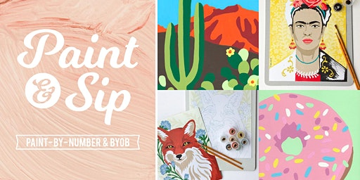 Paint & Sip: BYOB Paint-By-Number Night