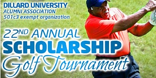 22nd Annual Scholarship Golf Tournament presented by DFW-Dillard University Alumni