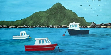 Paint your own Island Bay with Heart for Art NZ tickets
