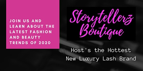 SIP SHOP & LEARN ABOUT THE LATEST FASHION TRENDS of 2020  tickets
