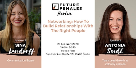 Networking: How To Build Relationships With The Right People | FF Berlin tickets