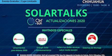 SolarTalks / Conoce lo que trae el 2020 para la Industria Solar con Ctrl+Sun, Huawei, BayWa r.e. y Solar Power México entradas