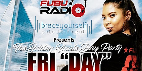 FUBU Radio Friday Day Party at BLACKFINN in The Epicentre tickets