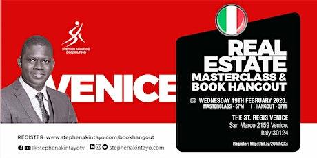 Real Estate Masterclass & Book Hangout - Venice biglietti