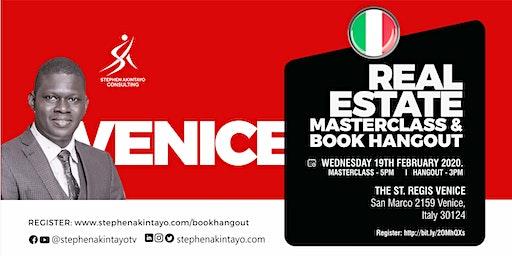 Real Estate Masterclass & Book Hangout - Venice