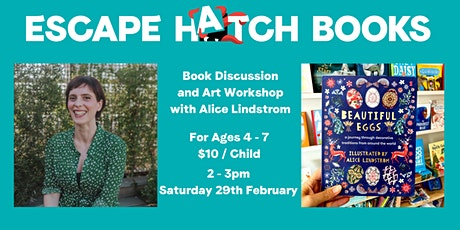 Author Book Discussion & Art Workshop tickets