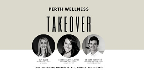 Perth Wellness Takeover tickets
