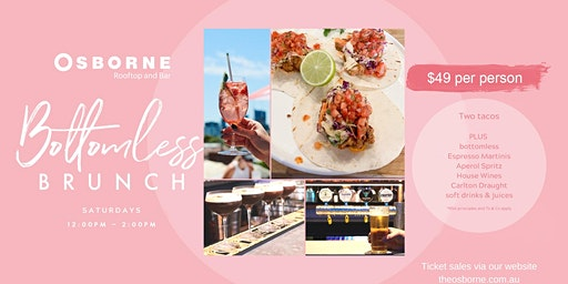 Bottomless Brunch on the Osborne Rooftop (Sundays)