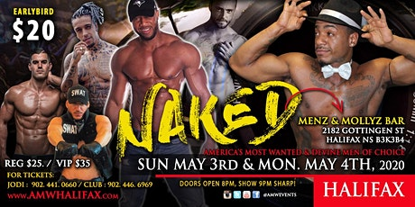 Halifax NAKED - Ladies Night - Devine Men Of Choice & AMWEvents tickets