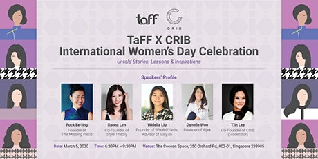 TaFF X CRIB International Women's Day Celebration tickets