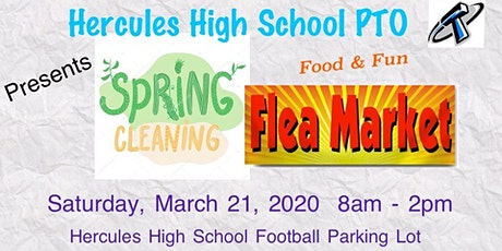 HHS PTO Presents Spring Cleaning Flea Market tickets