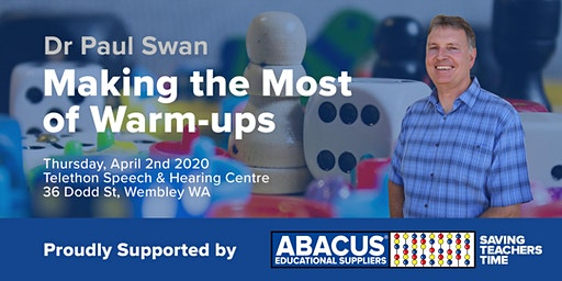 Dr Paul Swan - Making the Most of Warm-ups