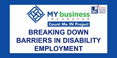 FREE Workshop – Breaking Down Barriers in Disability Employment tickets