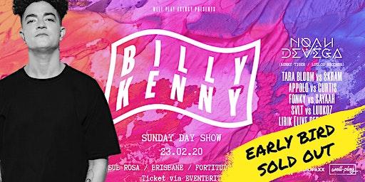 Well.Play Pres: Billy Kenny [UK] / Sub Rosa  / Brisbane